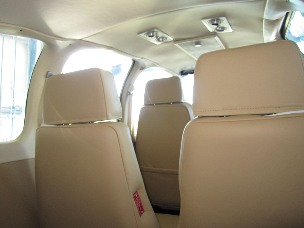 Rear Seats, Headliner, and Trim